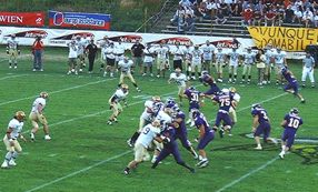 Vikings attacked thru the Air (c) Vienna Vikings