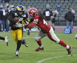 Berlin Adler beat Amsterdam Crusaders (c) Huddle Magazin