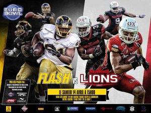 Flash vs Lions (c) Flash de la Courneuve