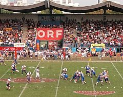 Stadium Hohe Warte during Austria Bowl 2003 (c) Vienna Vikings